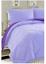 3 Piece Purple Lilac King Size Comforter Set Reversible Fits Cal King Bedding
