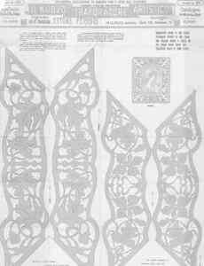 Disegno-Drawings-Ettore-Ferrari-Tav-180-193x-Cornice-stile-Liberty-DVD