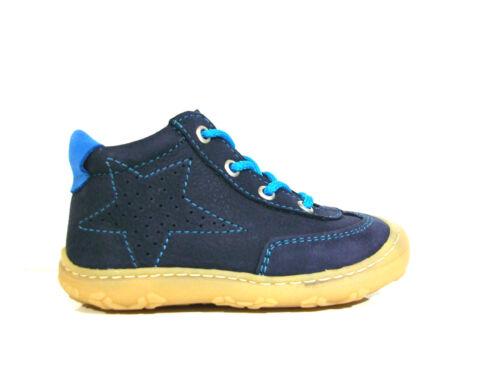 Ricosta Pepino Lauflernschuhe Junge Modell Sami Farbe blau Größe 18-22 NEU