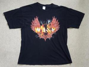 Wasp-la-banda-carmesi-Idol-Tour-de-T-Shirt-2007-2008-15th-Aniversario-XL-Retro