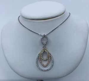 Gabriel-amp-Co-14k-Triple-Gold-Diamond-Pendant-Necklace