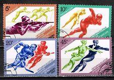 Russia Sport Figure Skating Hockey Sarajevo Winter Olympics  stamps 1984