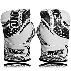 4,6,8 OZ Kids Leather Boxing Gloves Sparring Punchbag Children,Junior