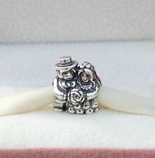 NEW!  AUTHENTIC PANDORA CHARM MR AND MRS BRIDE AND GROOM  #791116