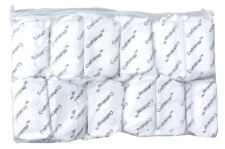 12pk Case CRAFT WRAP PLASTER BANDAGE Belly Casting Cloth Guaze Roll 4in x 5yd