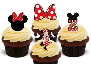 Phenomenal Minnie Mouse 2Nd Birthday Mix 12 Stand Up Premium Card Personalised Birthday Cards Veneteletsinfo