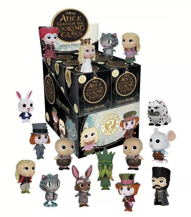 Funko ALICE THROUGH THE LOOKING GLASS Mystery Mini Display Case 12 SEALED