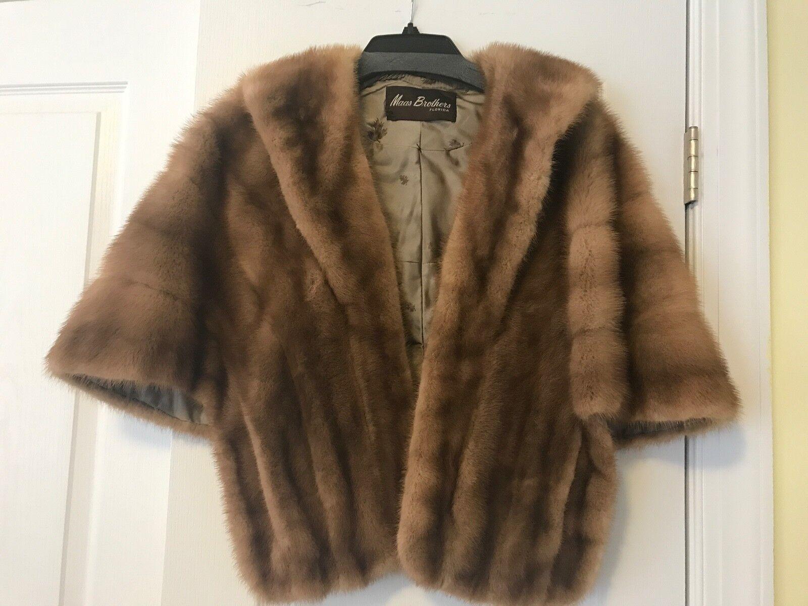 disfrute del envío de cortesía sobornar auténtico varios colores Estola de piel de visón capa Abrigo Abrigo Chaqueta ...