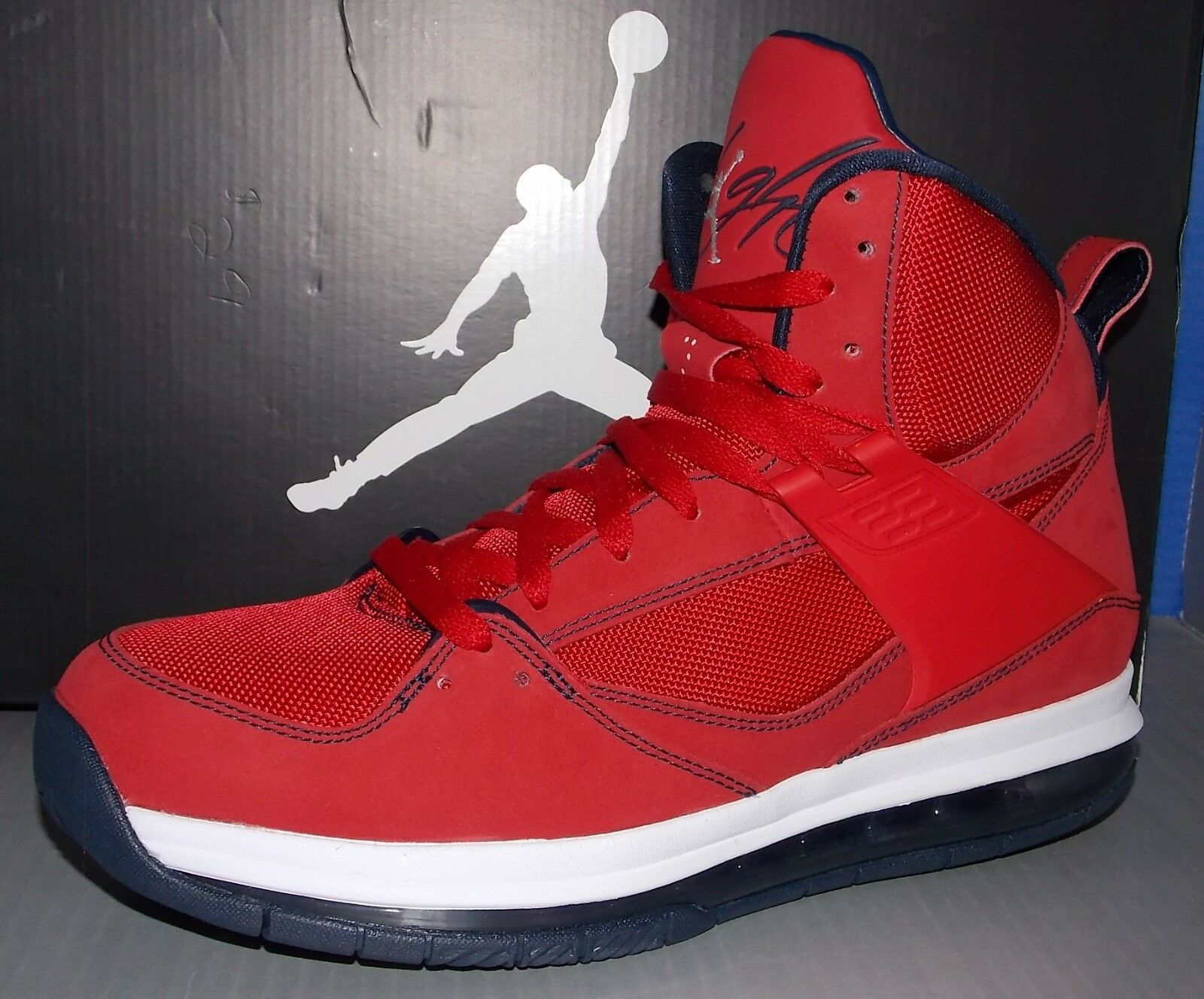 MENS NIKE JORDAN FLIGHT 45 HIGH MAX GYM RED / OBSIDIAN / WHITE SIZE 9 The most popular shoes for men and women