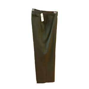 NWT-Tommy-Bahama-Women-039-s-Crop-Pant-Silk-Green-Flat-Front-Retail-120-00-Size-6
