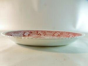 1-Fleischplatte-31-cm-x-23-cm-4-cm-hoch-Adams-English-Scenic-rot