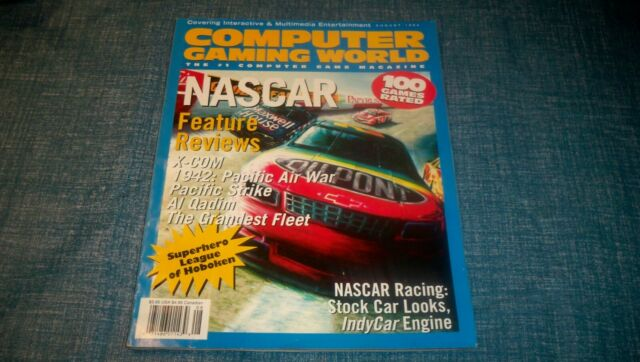 Computer Gaming World Magazine  August 1994 X-Com NASCAR STRAT-O-MATIC BASEBALL