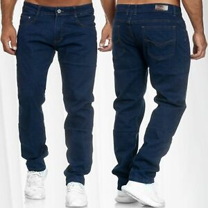 Herren-Jeans-Regular-Fit-Hose-Denim-Stretch-Ubergroesse-W34-W44-Plus-Size-Locker