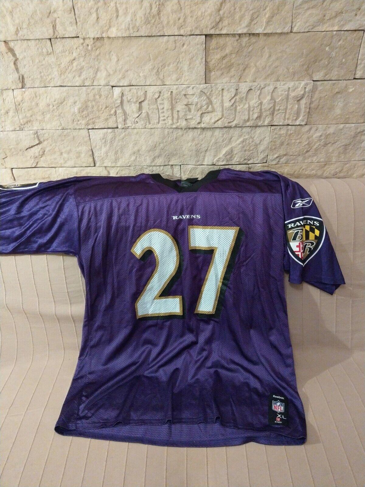 Baltimore Ravens NFL Rice trikot jersey Gr XL Reebok