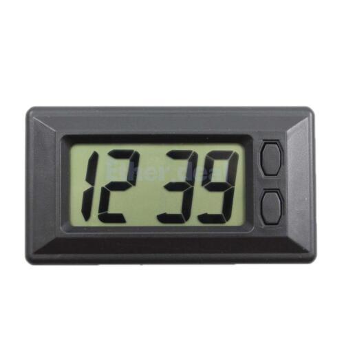 tempo e data di visualizzazione orologio AUTO-LCD Orologio classico carciofini con il cuscinetto adesivo