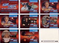 "Star Trek TNG The Next Generation: 39 Card ""Behind The Scenes"" Set Skybox"