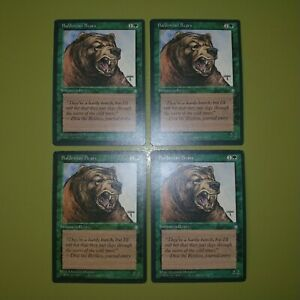 Balduvian-Bears-x4-Ice-Age-4x-Playset-Magic-the-Gathering-MTG