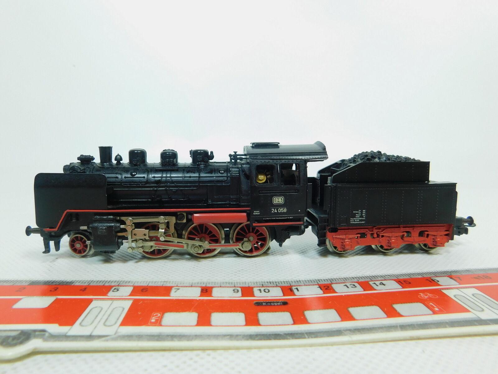 Bn298-1Märklin h0 ac 3003 Steam Locomotive Steam Locomotive 24 058 DB, Very Good