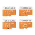 SAMSUNG 16GB 32GB 64GB 128GB Micro SD SDHC SDXC MicroSDXC paket Class 10 EVO DE