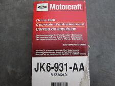 Ford Motorcraft JK6-931-AA OEM Serpentine Belt 8L8Z-8620-D Factory Various Model