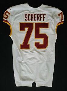 75-Brandon-Scherff-of-Washington-Redskins-NFL-Locker-Room-Game-Issued-Jersey