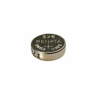 #376 (SR626W) Renata Mercury Free Watch Batteries - Strip of 10