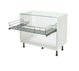B&Q Under Sink Drawer Fits 1000mm 100cm Kitchen Base Unit - B&Q GOODHOME New