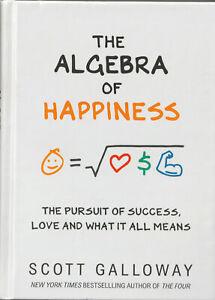 LIBRO-The-Algebra-of-Happiness-Scott-Galloway-Prima-Edizione-1-1-INGLESE-NUOVO