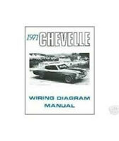 1971 Chevrolet Chevelle Wiring Diagram Manual
