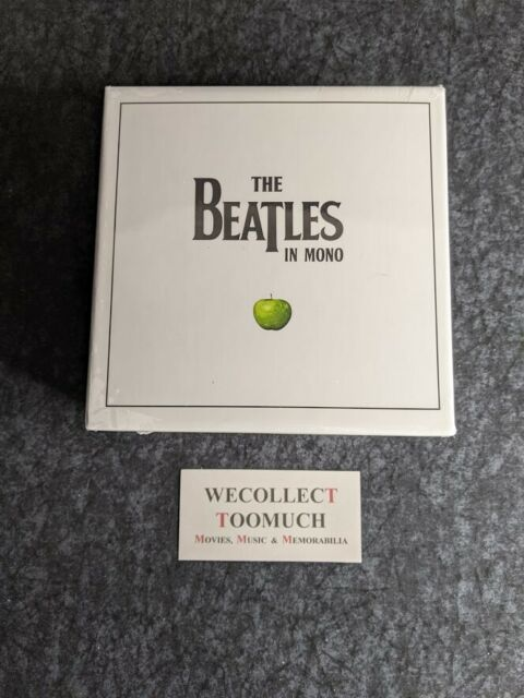The Beatles Mono Box Set All 10 Mono Albums On CD Apple New Sealed Japan Import