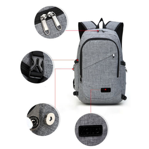 Men-Laptop-Backpack-Travel-Hiking-Climbing-Rucksack-With-USB-Charge-Interface