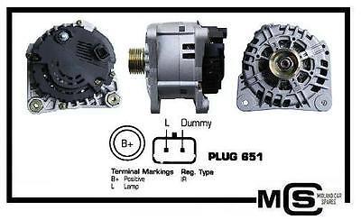 ALTERNATOR 125A 14V OPEL VAUXHALL VIVARO 1.9 MOVANO MK 1 A 1.9+2.5