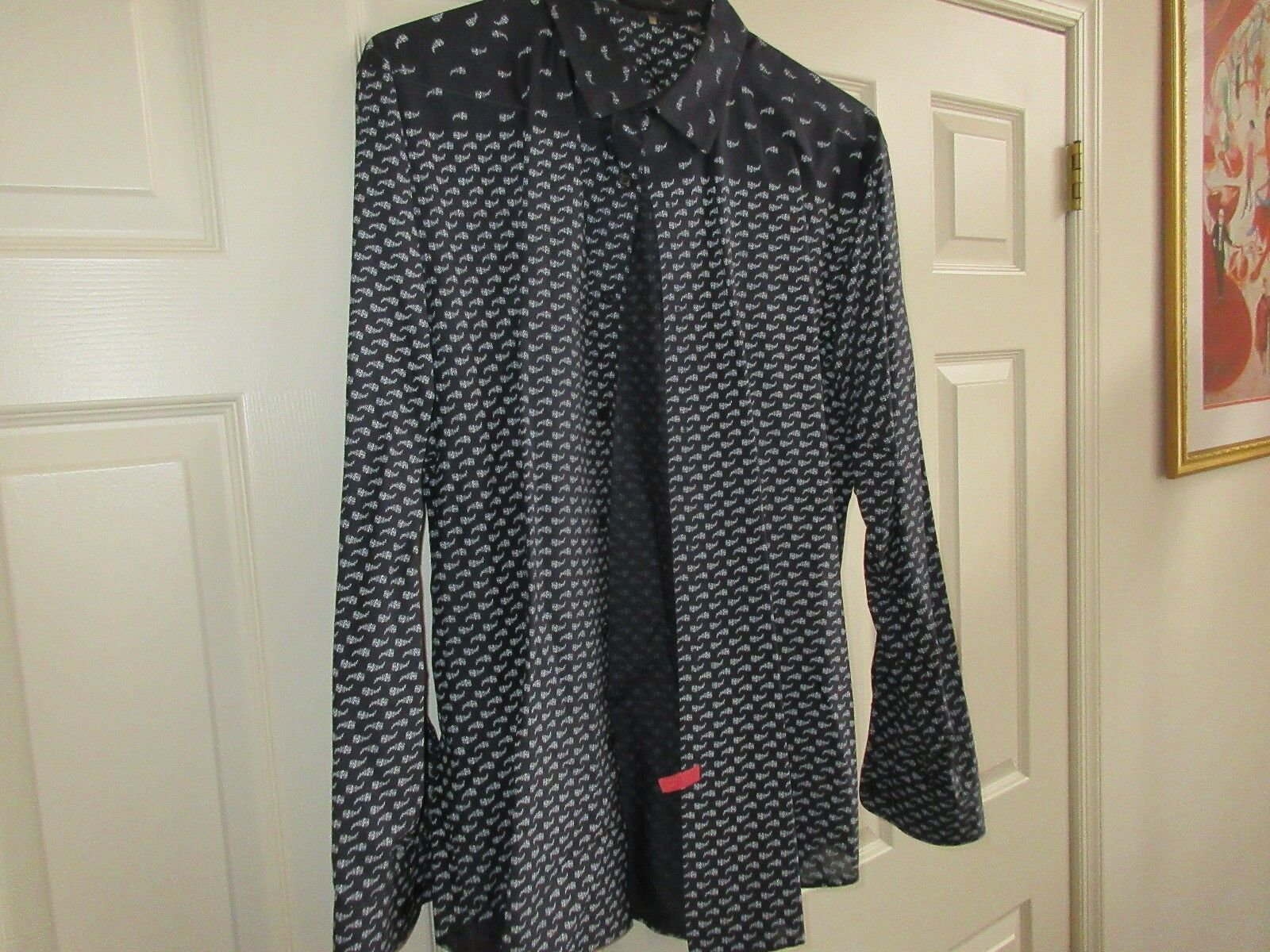 Elie Tahari , Size XL , Long Sleeve Shirt , 100% Cotton