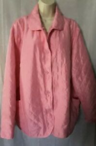 Puffer Jacket Silkland 2x Womans Lt Piqué Taille Rose n18BASqv8