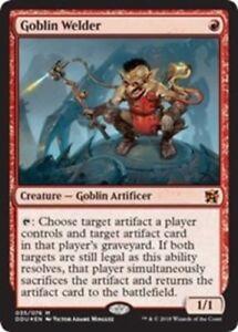 4x-Goblin-Welder-Foil-NM-Mint-English-Duel-Decks-Elves-vs-Inventors-MTG-Mag