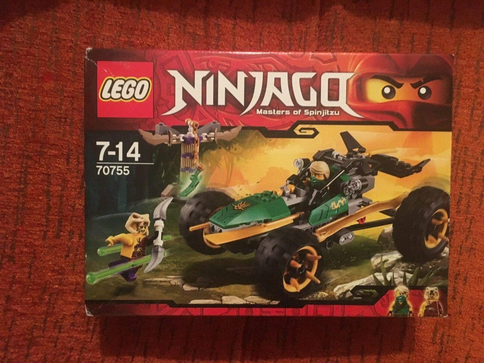 LEGO NINJAGO Lloyds Dschungelräuber Dschungelräuber Dschungelräuber (70755) NEU ungeöffnet 56a64d