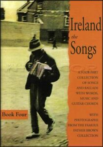 Irlande Les Chansons Livre 4 Quatre Chord Melody Répertoire Irlandais Tune Same Day Dispatch-afficher Le Titre D'origine