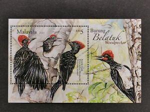 Malaysia-2013-bird-woodpecker-burung-belatuk-MS-MNH