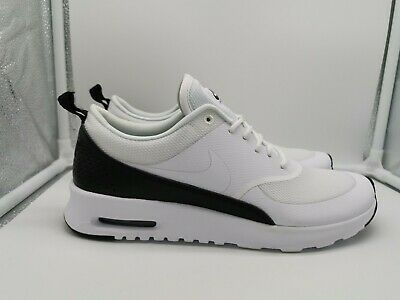 new arrival pretty nice no sale tax Nike Womens Air Max Thea UK 5.5 White White Black 599409-111 | eBay