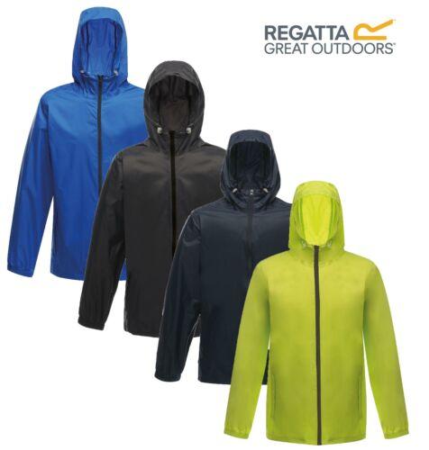 Regatta Unisex Avant Lightweight Hooded Waterproof Rainshell Jacket Mens Womens