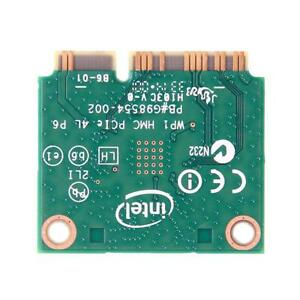 Mini-PCI-E-WLAN-Karte-Intel-3160HMW-Wifi-Bluetooth-4-0-Kabellos-AC-3160-802-11