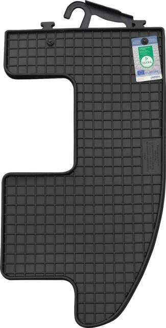 PETEX Gummimatte 2-teilig schwarz für VW Sharan ab 1995-08/2010 2. Sitzreihe