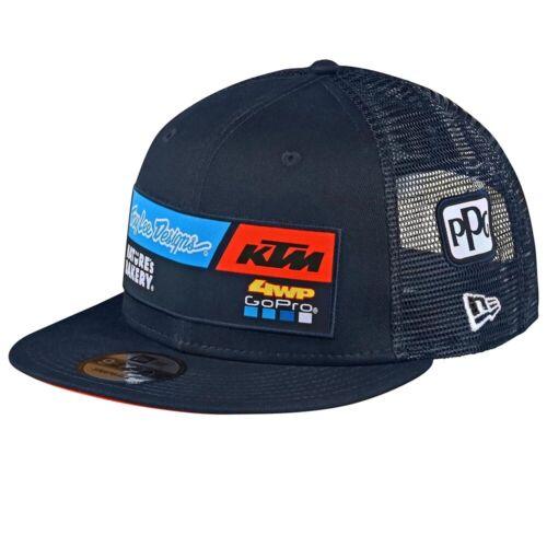Troy Lee Designs 2020 YOUTH MX Casuals KTM Team Wear Snapback Hat//Cap Navy