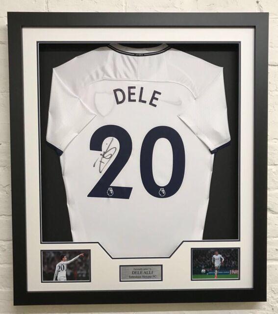 the best attitude 64dea 2e141 Signed Dele Alli Spurs Framed Shirt - Tottenham Hotspur