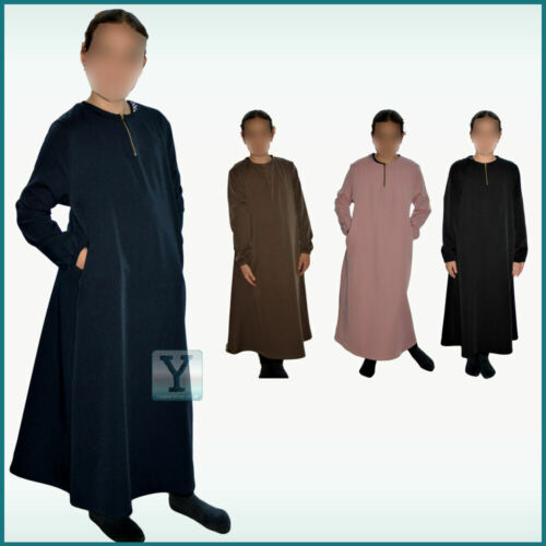 6-7 7-8 Girls Abaya Madrassa Mosque kaftan age 5-6 9-10 Hijab islamic Jilbab