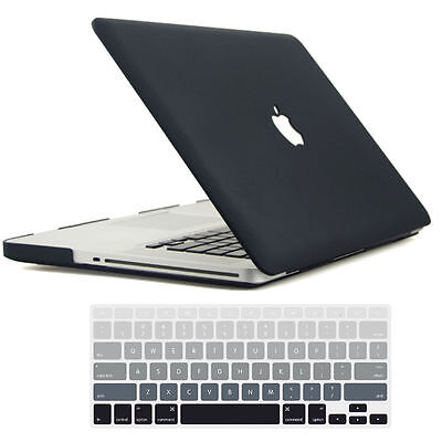Laptop Accessories Rubberized Hard skin Case for Macbook Air Pro 11 12 13 15 +KB