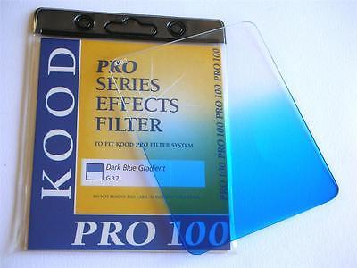 KOOD PRO 100 FILTER GRADUATED DARK BLUE FITS COKIN Z SERIES 100X125MM