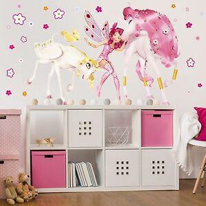 wandtattoo kinderzimmer mia and me onchao und lyria wandsticker aufkleber kinder ebay. Black Bedroom Furniture Sets. Home Design Ideas