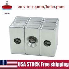 51050pcs N35 Super Strong Block Square Rare Earth Neodymium Magnets 20x10x4mm