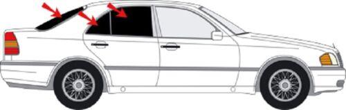 Auto Sonnenschutz Scheiben-Tönung-tönen Sichtschutz  MERCEDES C W 202 Limo